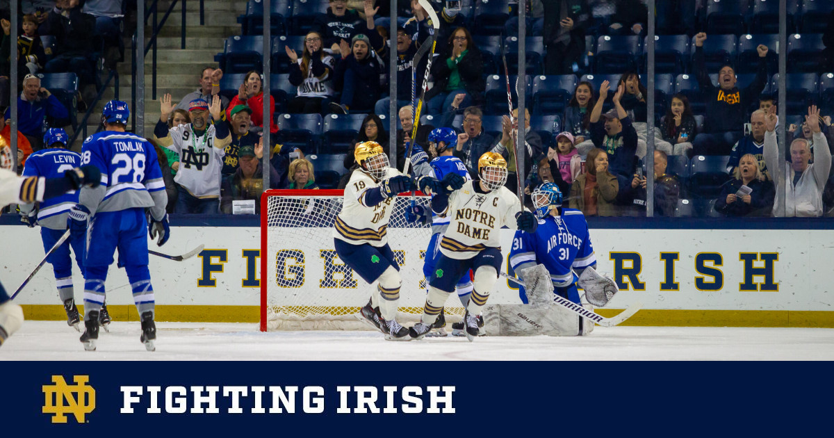 No. 8/9 Irish Earn Season-Opening Sweep