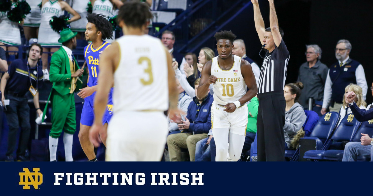 Irish Back In Purcell To Face Tar Heels