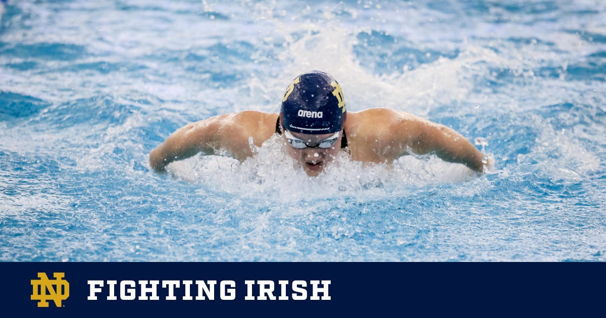 No. 12 Irish Place Fifth in ACC, Gillilan Wins Bronze in 200 Fly