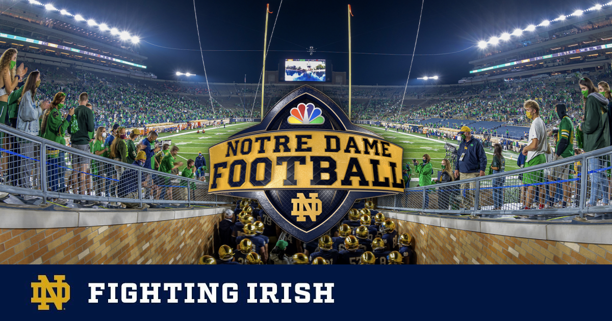 Notre Dame Football Home Opener To Air Exclusively On Peacock