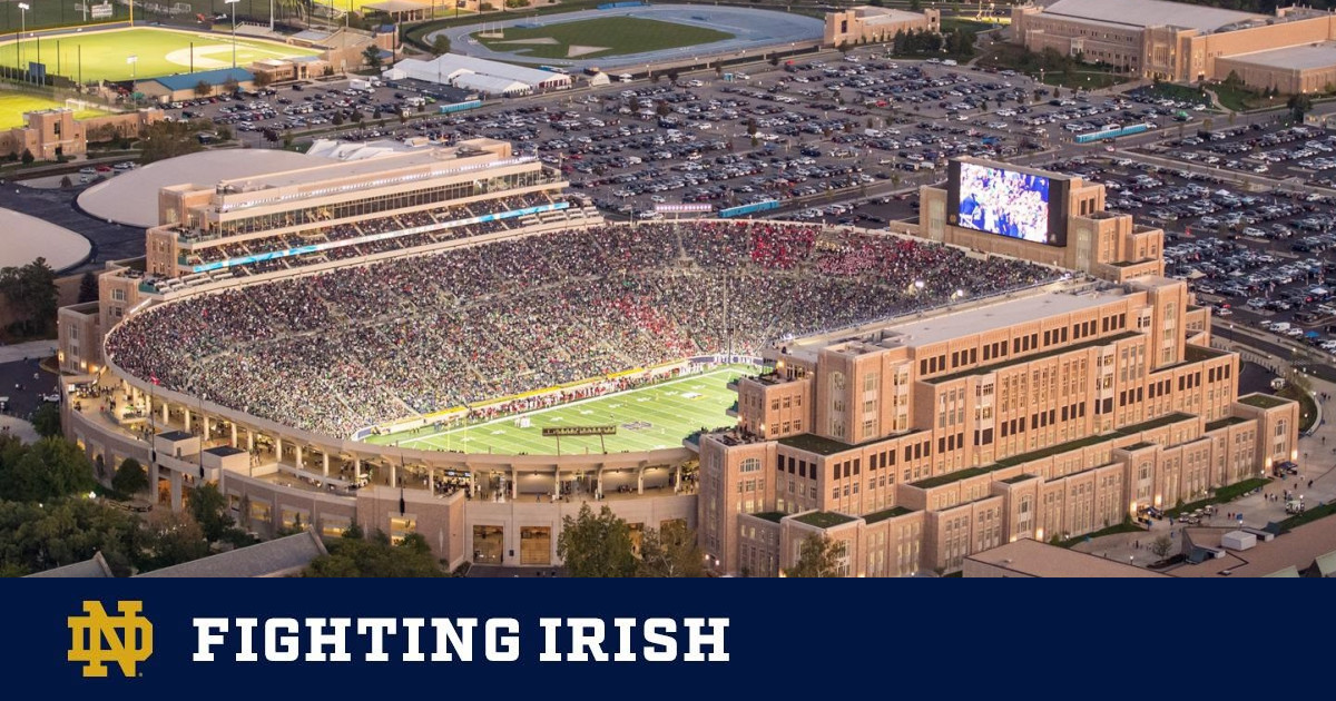 Irish Traditions Mostly Known Some Unknown Notre Dame Fighting Irish Official Athletics Website