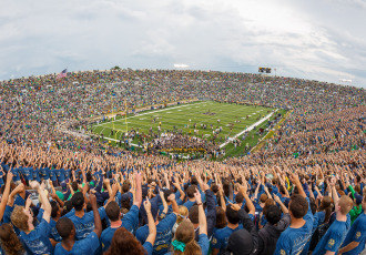The Notre Dame - Nevada game on Sept. 10, 2016, will mark the 250th consecutive sellout at Notre Dame Stadium.