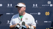 @NDFootball Brian Kelly Press Conference - Culver Day 1 (8.3.18)