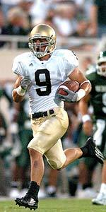 Tom Zbikowski helped Notre Dame defeat Michigan and Michigan State in the same season for the first time in 14 years.