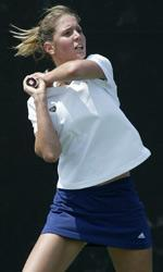Senior captain Sarah Jane Connelly was victorious at No. 6 singles in helping the Irish to the BIG EAST title.