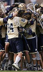 The Notre Dame men's lacrosse team will take part in the Lacrosse Without Borders program in an attempt to increase the popularity of the sport in the Czech Republic.