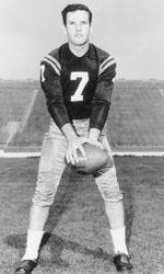 John Huarte led the Irish to a 9-1 season in 1964 after playing sparingly the previous two seasons.