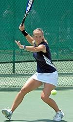 Junior Catrina Thompson was among the final eight in singles in both of the last two years.