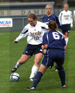 Brittany Bock and her Notre Dame teammates will be facing a familiar foe, when Notre Dame