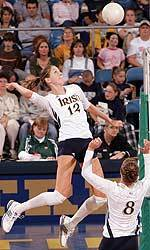 Senior middle blocker Lauren Brewster was named the BIG EAST preseason player of the year prior to the start of the 2005 campaign.