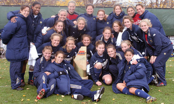 The Notre Dame women's soccer team - fresh off winning the BIG EAST Tournament title - embarks on its annual quest for an even bigger prize, as NCAA Tournament action will return to Alumni Field this weekend (Nov. 11 and 13).