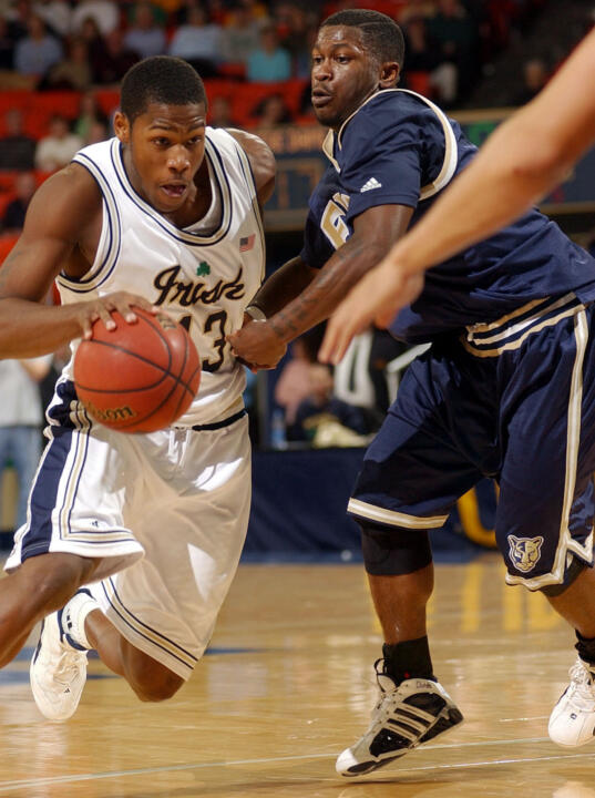 Russell Carter and Notre Dame take on DePaul this Saturday in Rosemont, Illinois.