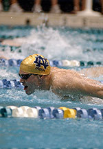 Tim Kegelman placed eighth overall in the 100-yard butterfly at the 2006 Speedo American Short Course Championships.