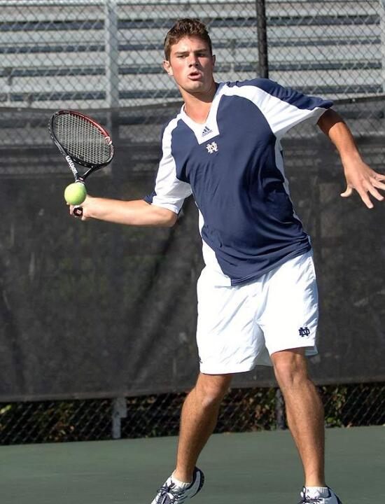 Junior Stephen Bass holds a 6-1 career singles record in the Blue-Gray National Tennis Classic.
