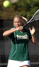 Senior Kelly Nelson is 13-2 this season in singles.