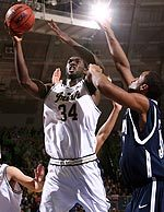 Torin Francis is leading the Irish in rebounding with a career-best 9.6 rebounds.