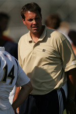 Notre Dame associate head coach Brian Wiese has been named the new head coach at Georgetown University.