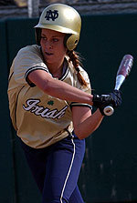 Stephanie Brown showed the ability to do it all offensively in 2006, leading the team with 79 hits while smacking a career-best eight home runs, driving in 22 runs and stealing 20 bases.