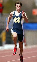 Senior Ryan Postel is the lone returning Irish male with a BIG EAST outdoor title to his credit, having won the 400-meter crown in 2004.