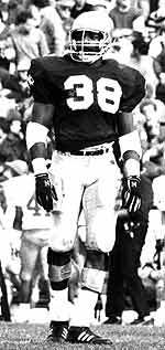 "Darrell ""Flash"" Gordon was a key linebacker/defensive end on the 1988 National Championship team."