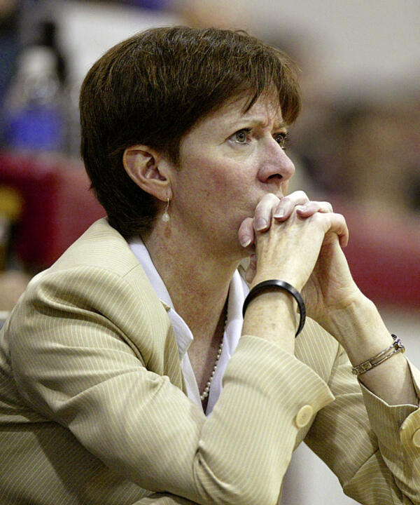 Muffet McGraw will need to replace starting point guard Megan Duffy, lost to graduation, for the 2006-07 season.