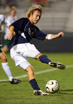Joseph Lapira leads the Irish with five goals so far during the 2006 campaign. His 15 career goals are the most for any current Notre Dame player.