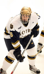 Florida native Noah Babin returns to his home state this weekend when Notre Dame plays in the Lightning College Hockey Classic in Tampa, Fla.