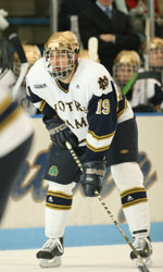 Senior defenseman Wes O'Neill anchors a veteran Notre Dame defense in 2006-07.