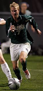 Ian Etherington collected the assist on Luke Boughen's game-winning goal the last time Notre Dame and Rutgers met. The Irish captured a 1-0 victory over the Scarlet Knights during the 2004 season.