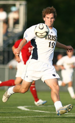 Nate Norman's goal in the 56th minute put a cap on the Irish's 2-0 victory over DePaul on Wednesday evening.