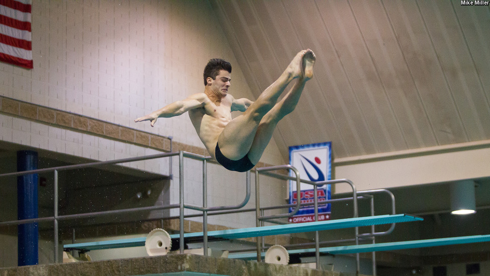 ACC Men's Diver of the Week Joe Coumos