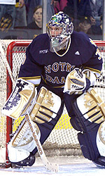 David Brown, the nation's top goaltender, has been selected as one of three finalists for the 2007 Hobey Baker Award