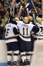 The Notre Dame hockey team will celebrate the 2006-07 season with the annual awards program on Sunday, April 1.