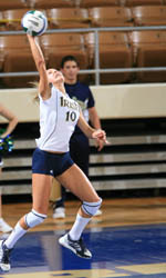 Junior Adrianna Stasiuk was named the Monogram Club MVP at the volleyball award banquet.