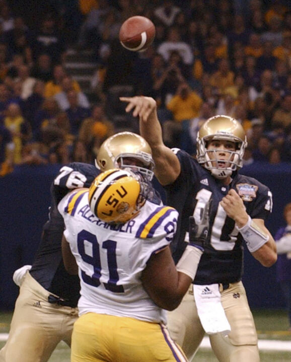 watch c67f6 c53d2 Browns trade up to get Brady Quinn – Notre Dame Fighting ...