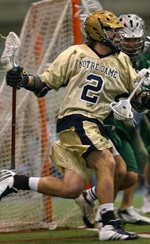 Sophomore Duncan Swezey netted a career-high four goals against Lehigh on Saturday.