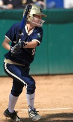 Notre Dame's softball team had its game against Valparaiso rescheduled for Thursday, April 12 at 5 p.m.