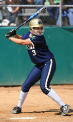 Heather Johnson had a six RBI doubleheader against Western Michigan