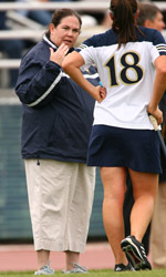 Notre Dame head coach Tracy Coyne saw all six of her incoming recruits for the fall of 2007 receive US Lacrosse high school All-American honors.