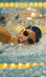 Katie Carroll, former Notre Dame swimmer. <i>(photo by ND Sports Information)</i>