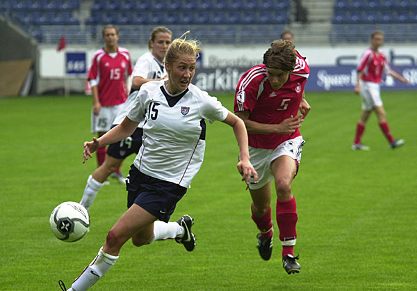 Notre Dame's Amanda Cinalli is one of several Nordic Cup veterans who will be looking to avenge the 2006 title-game loss to Germany. (US Soccer photo)