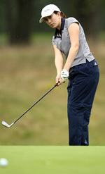 Kristin Wetzel registered a 78.82 scoring average during her freshman season.
