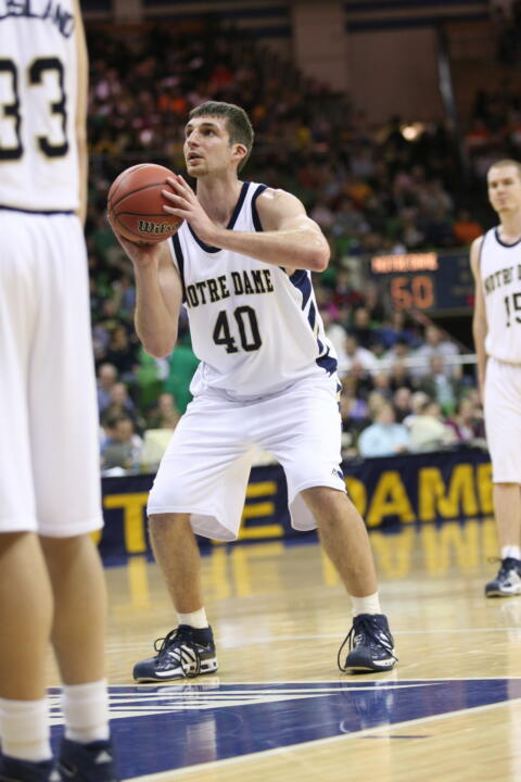 Luke Zeller scored 14 points for the second straight outing.