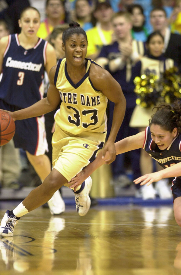 If anyone knows about top-notch point guard play, it's first-year Irish assistant coach Niele Ivey, who was an All-American point in 2001 when she led Notre Dame to its first NCAA national championship.