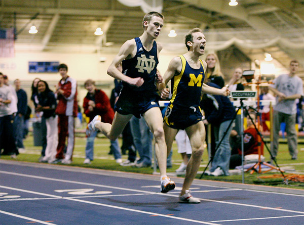 Senior Kurt Benninger is headed to the NCAA Indoor Championships in the the 3,000-meter run.