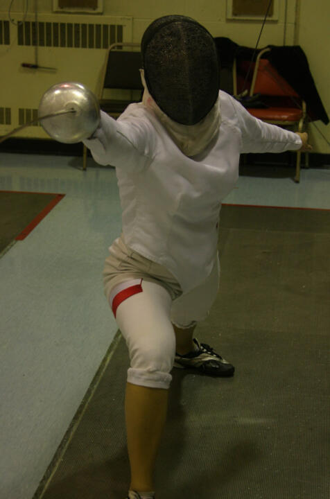 Freshman Ewa Nelip went 11-3 in the epee during the first four rounds of the NCAA Championships on Thursday.