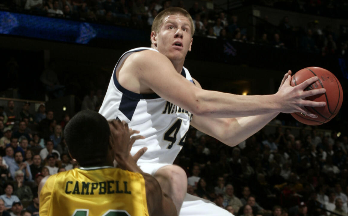Luke Harangody was the sixth-leading vote getter for the AP All-America team.
