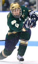 Ryan Thang scored his team-high 16th goal of the season in Notre Dame's 3-1 win over Western Michigan.