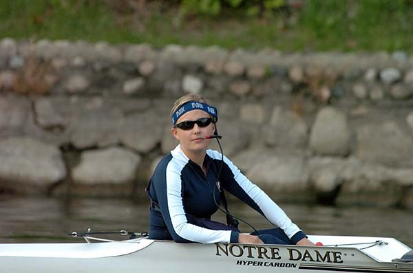 Notre Dame won all six of its races to highlight a strong weekend of racing.
