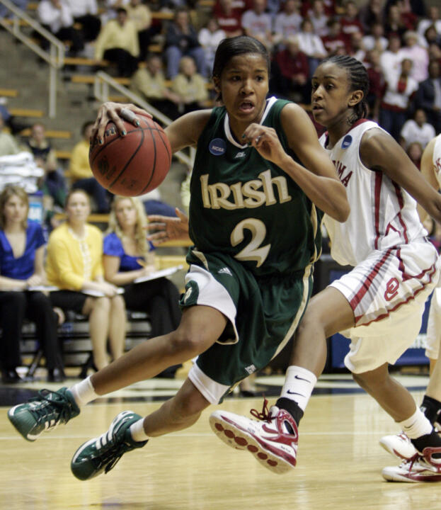 Senior guard Charel Allen becomes the latest in a long line of Notre Dame players who have been selected in the WNBA Draft, going to the Sacramento Monarchs in the third round (43rd overall pick) of the 2008 draft which was held on Wednesday in Palm Harbor, Fla.